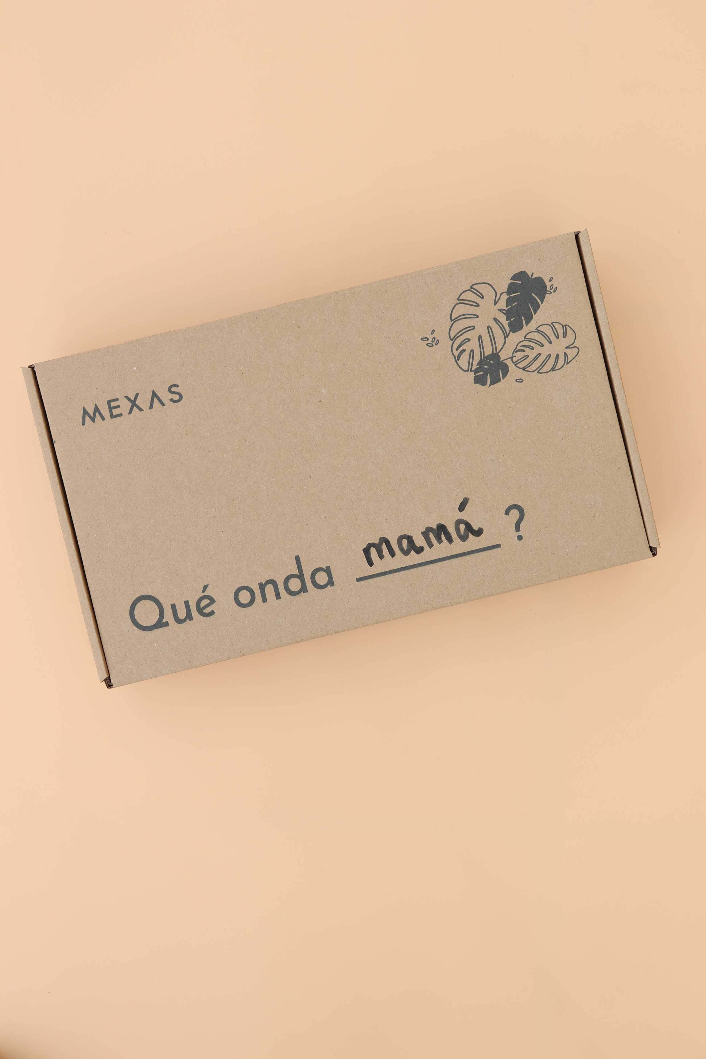 packaging ecológico de la marca Mexas
