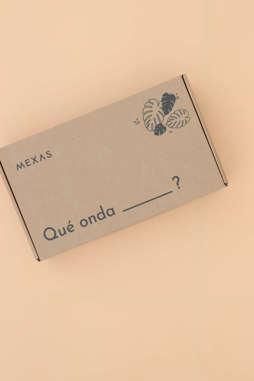 cajas ecológicas de la marca Mexas