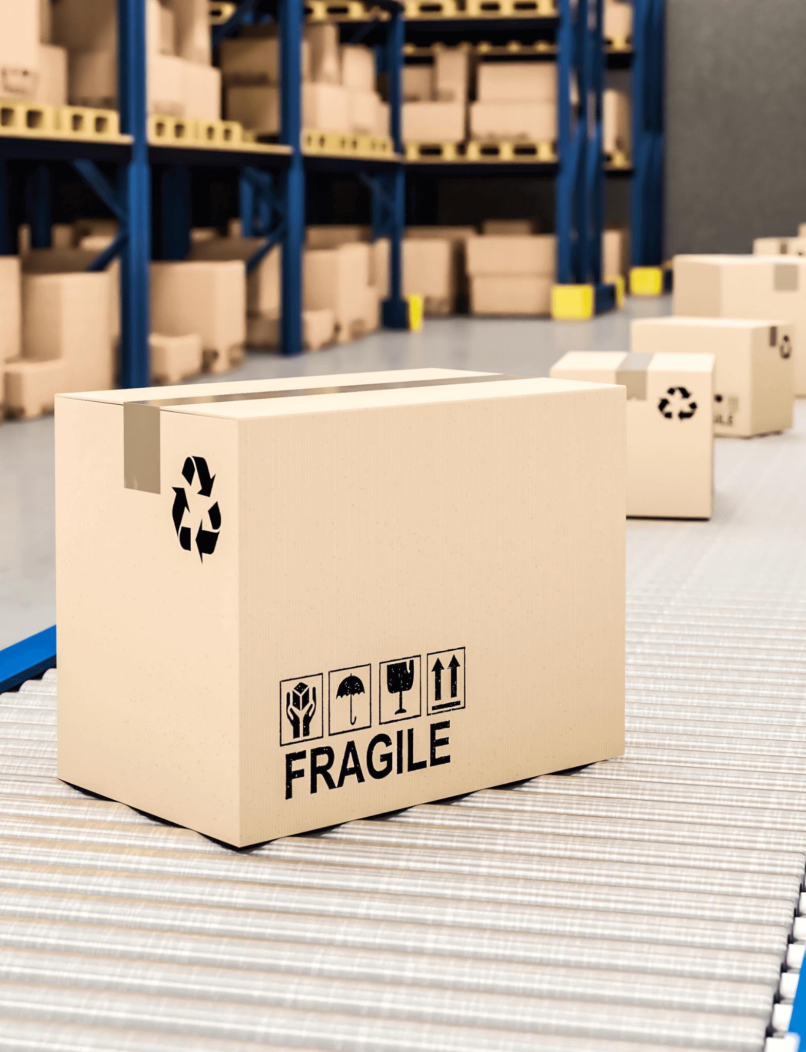 n almacén clasificado ayuda a mejorar la logística de e-commerce