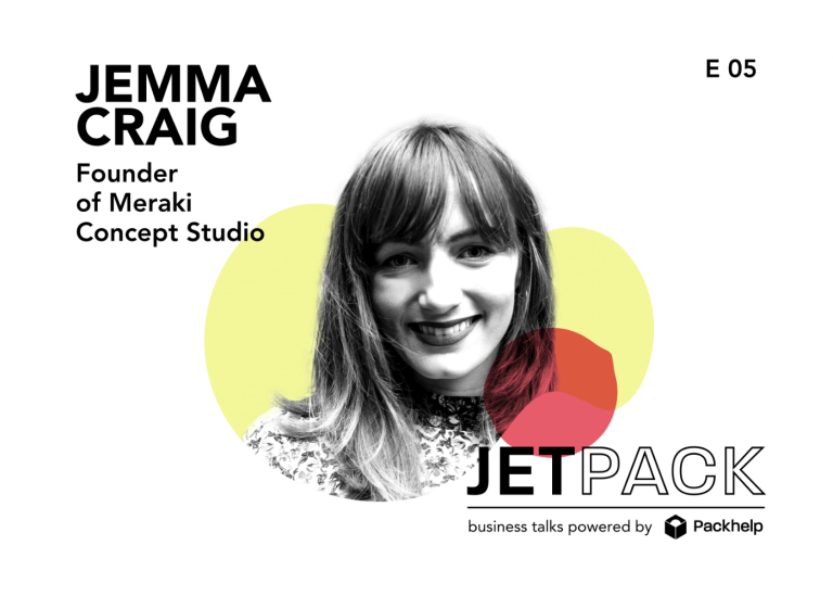 Podcast: The Jetpack Ep. #5 – Small businesses and branding with Jemma Craig from Meraki Concept Studio