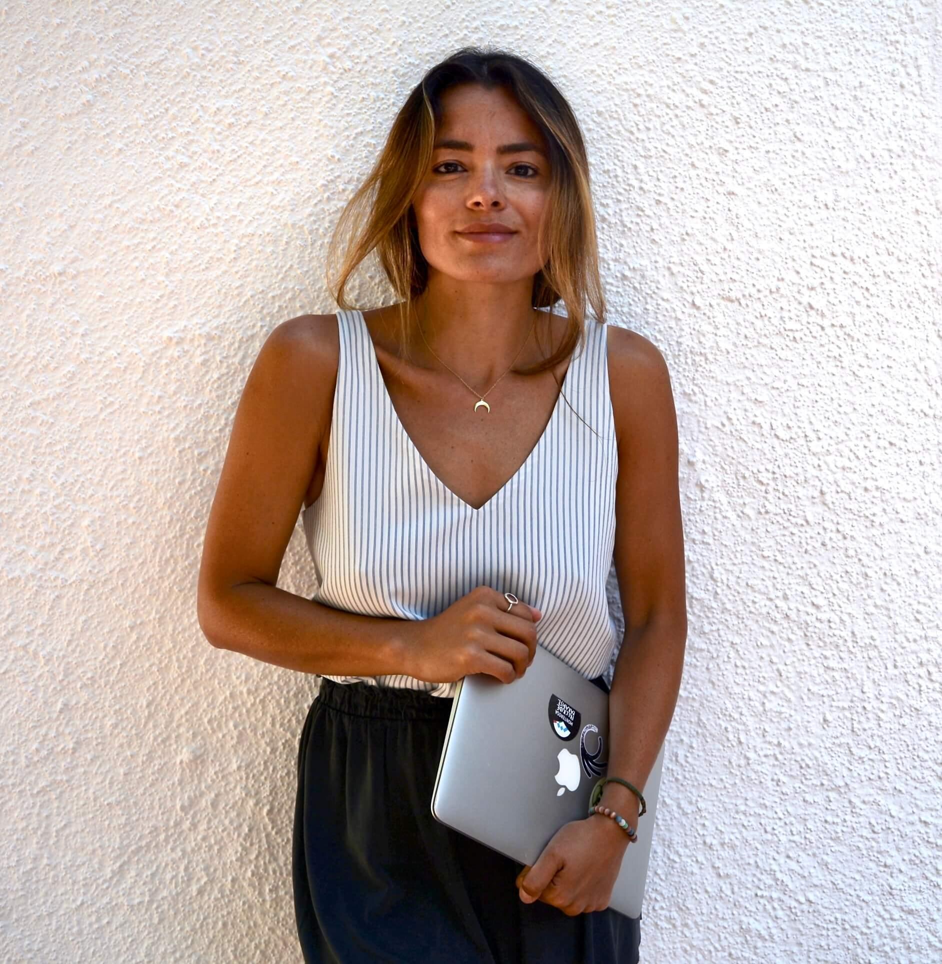Claudia es la fundadora de Kuruva