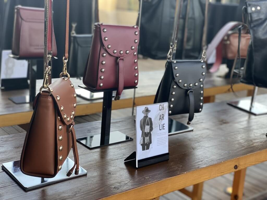 products from sofia uriach on display