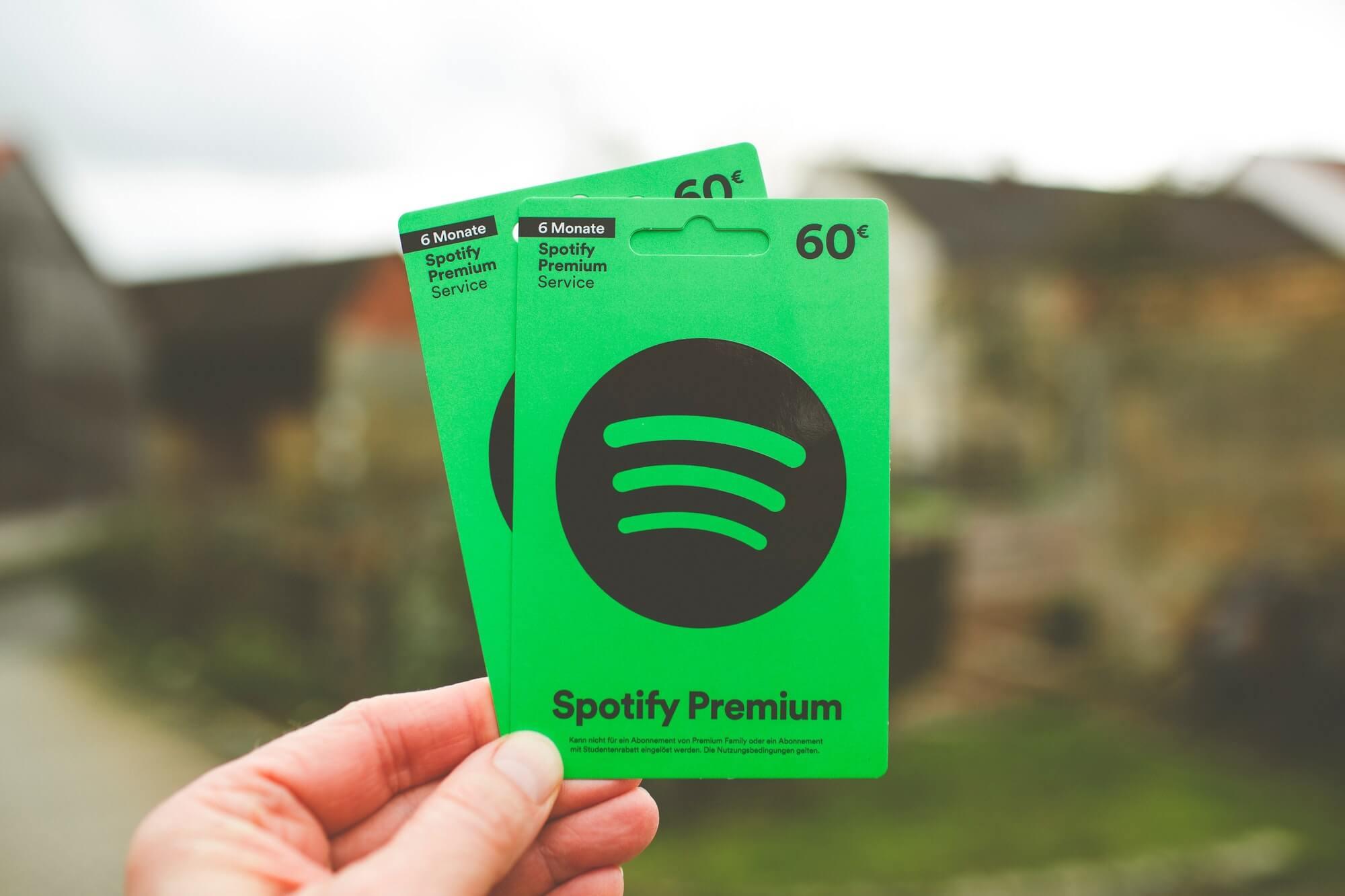 Carte cadeau Spotify
