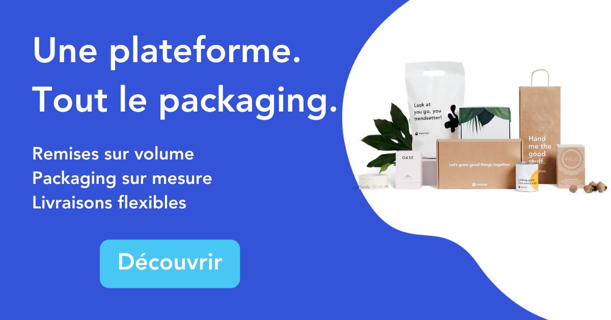 Commandez et gérez votre supply chain packaging sur une seule plateforme flexible