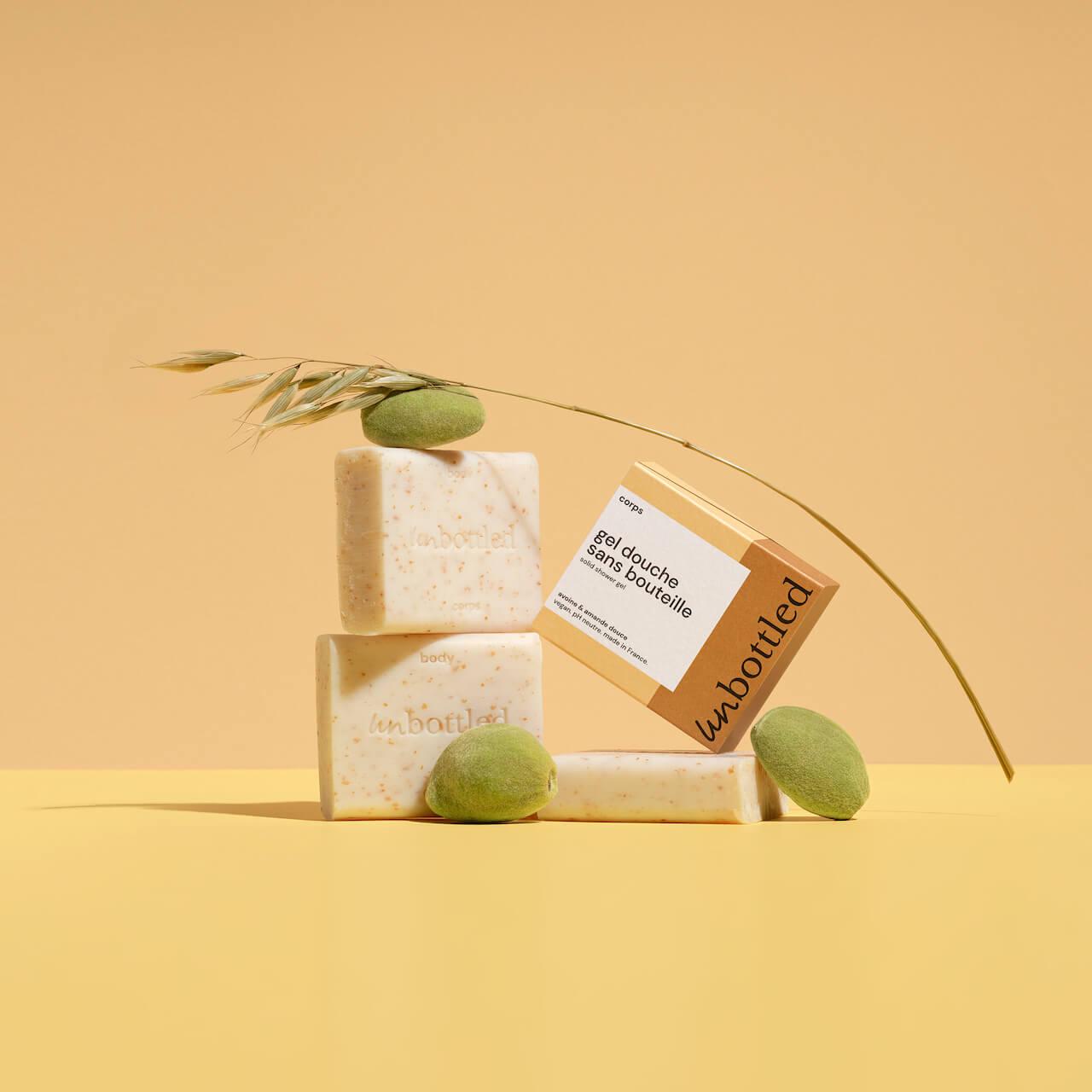 Produits cosmétiques biodégradables Unbottled