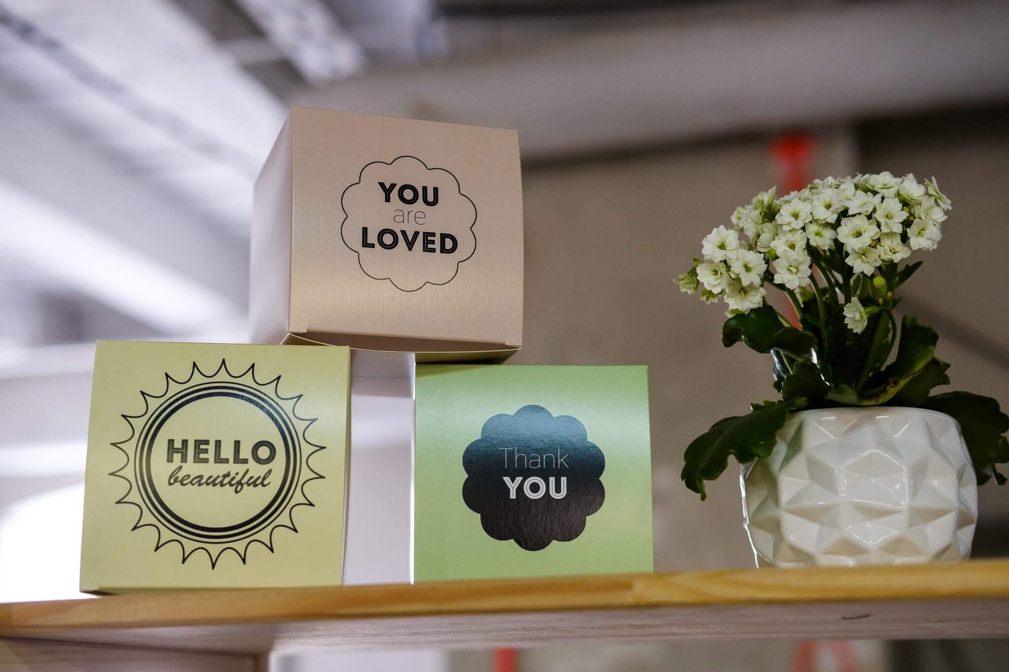 Packaging boîte produit Olivia Plum
