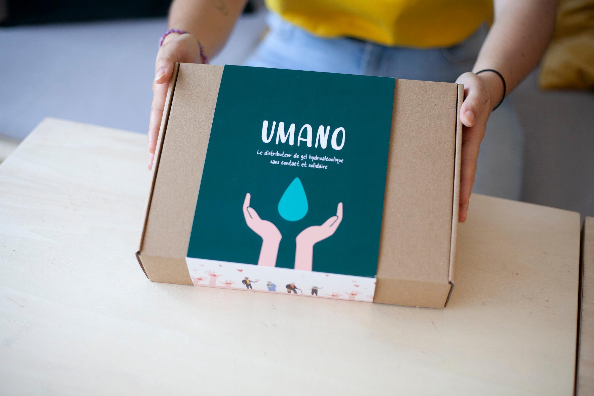 Boîte avec bandeau Brâam pour son kit presse
