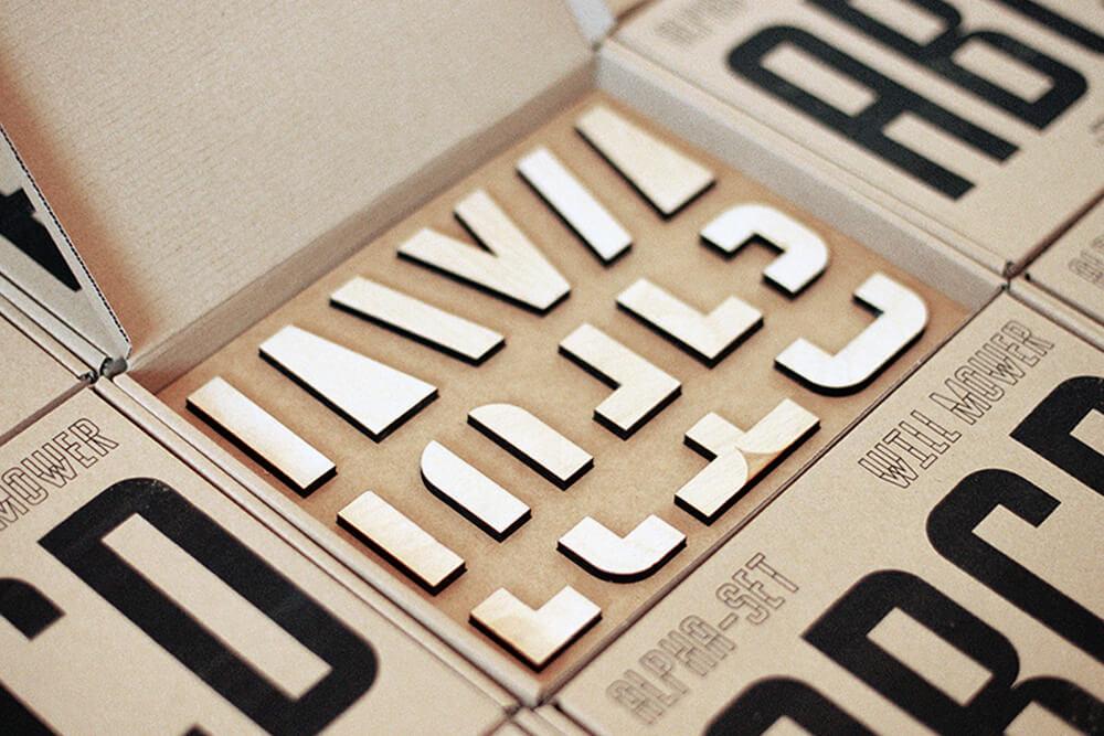 kit de sellos de will mower en caja para envios