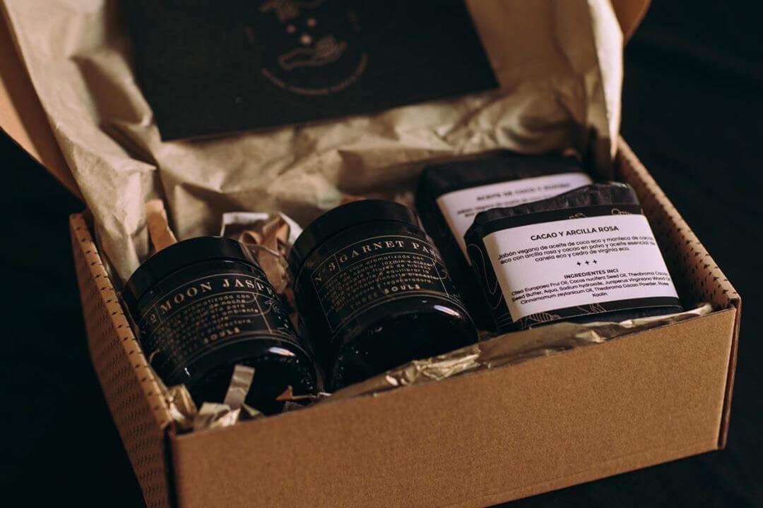 Velas aromáticas de la marca Three Souls