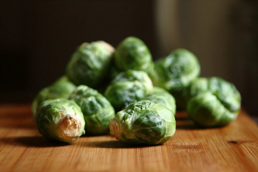 christmas waste brussel sprouts