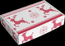 scatola renne di Natale
