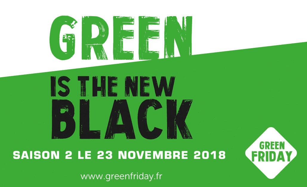 Slogan affiche Green Friday