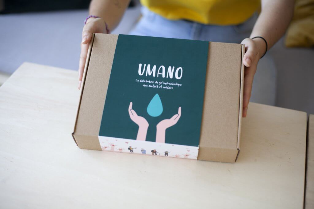 custom packaging for braam by packhelp