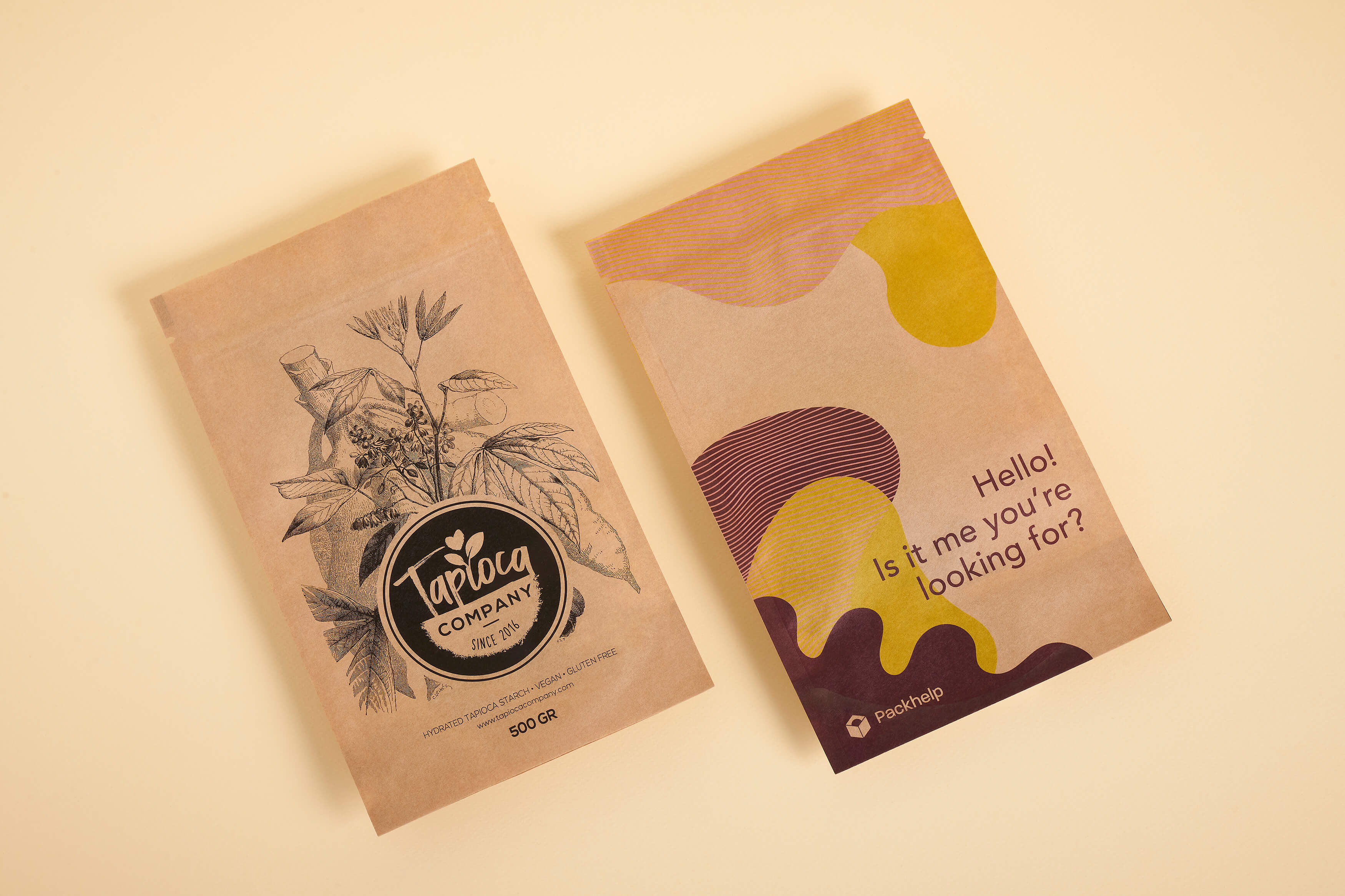Sachets alimentaires doypack