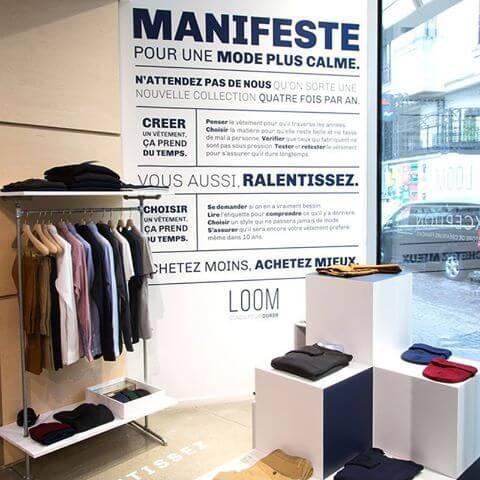 Vêtements éco-responsables de la marque Loom