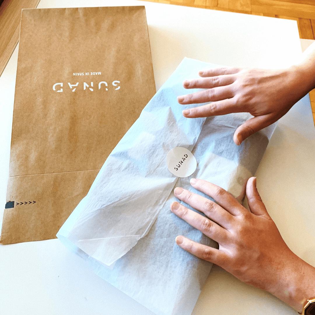Emballage écologique Sunad