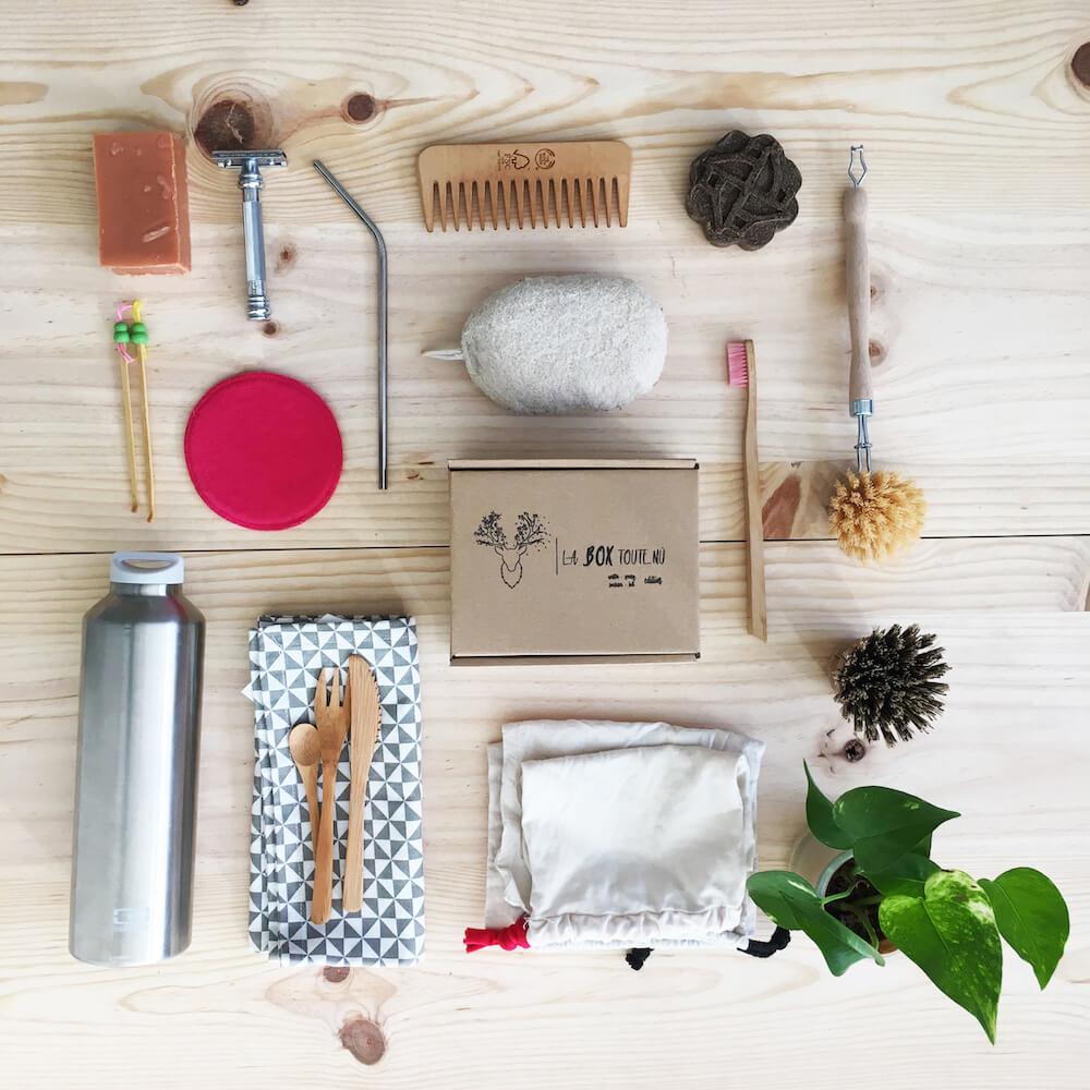 Divers accessoires et produits zéro déchet We Nü