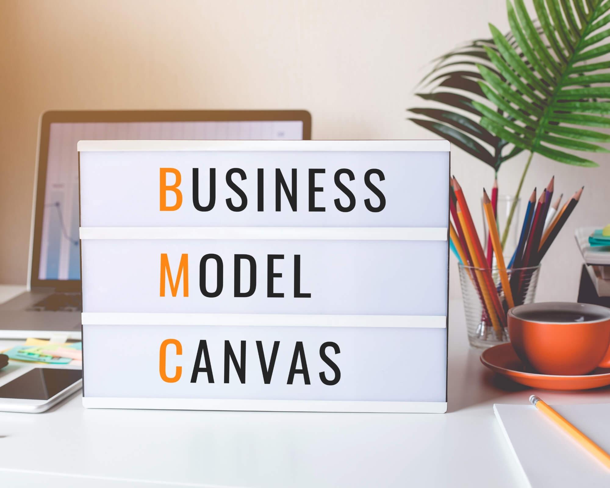 crea un modelo canvas para montar tu negocio y vender por Internet