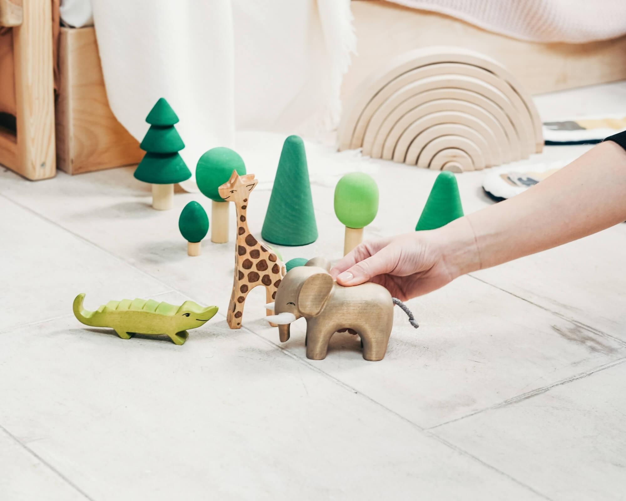 juguetes de madera que se pueden vender por Internet