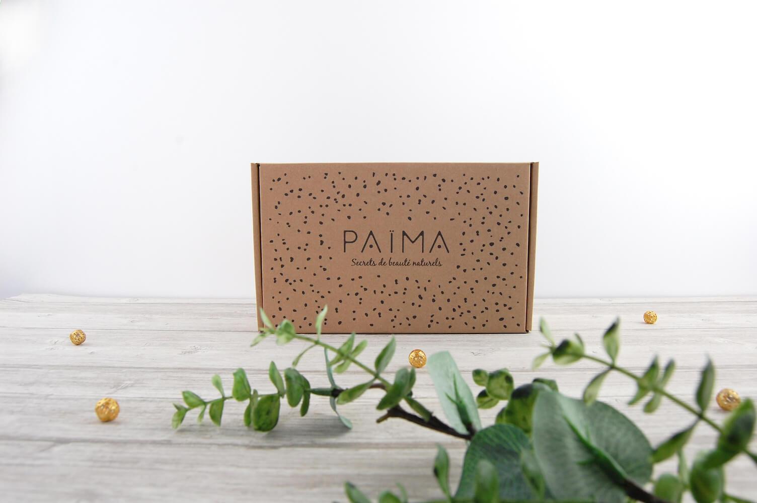 Boîte d'emballage en carton personnalisée de Païma