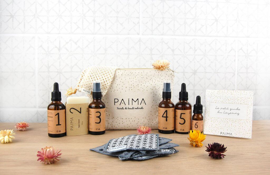 skin care layering kits by paima