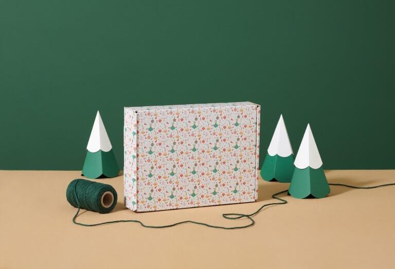 Weihnachtsverpackungen leicht gemacht – mit unseren Mustern