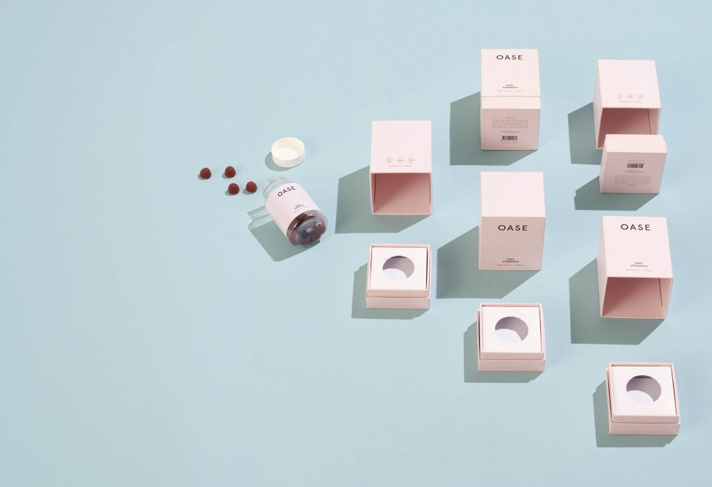 oase supplement packaging