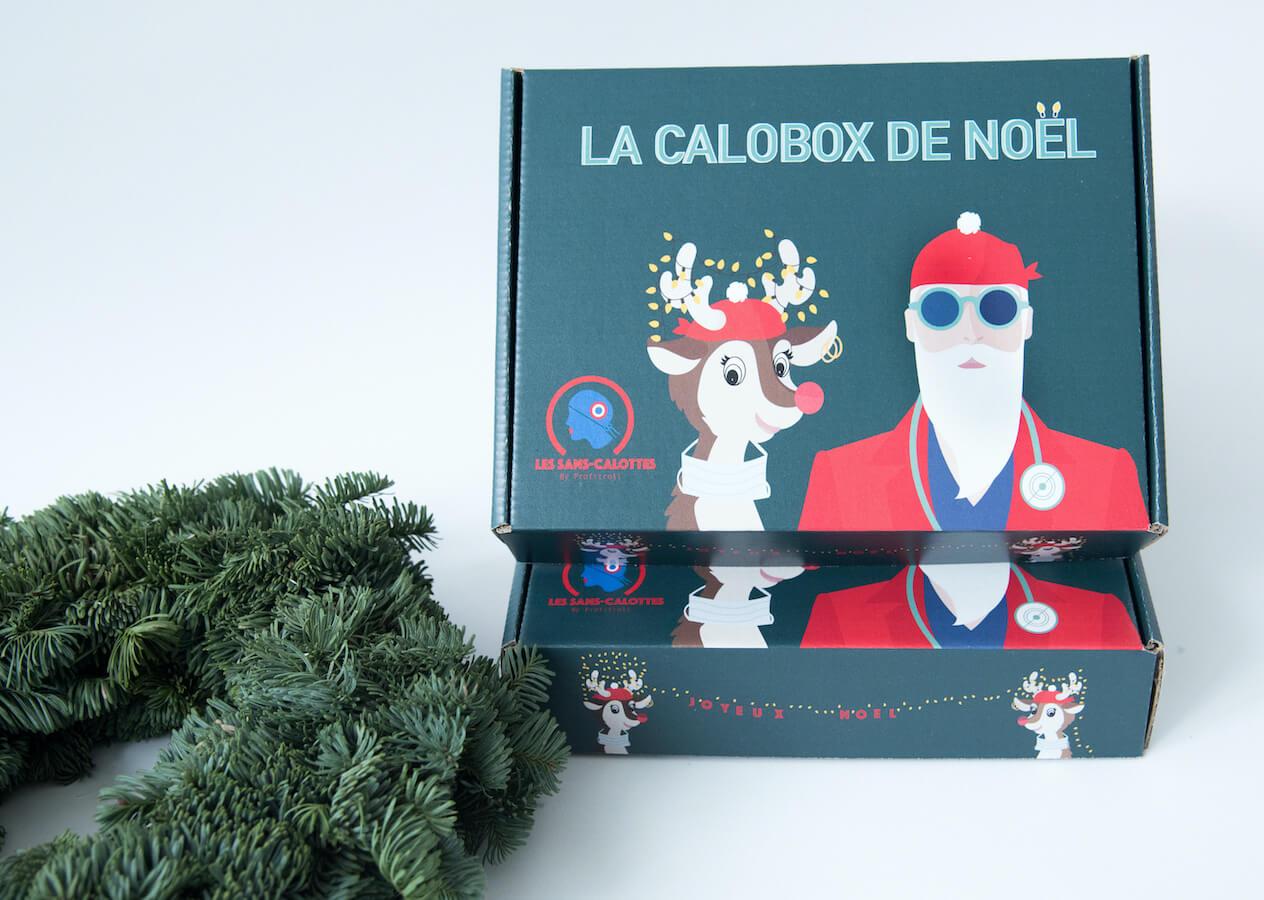 "Boîtes pack de Noël ""Calobox"" des Sans-Calottes"