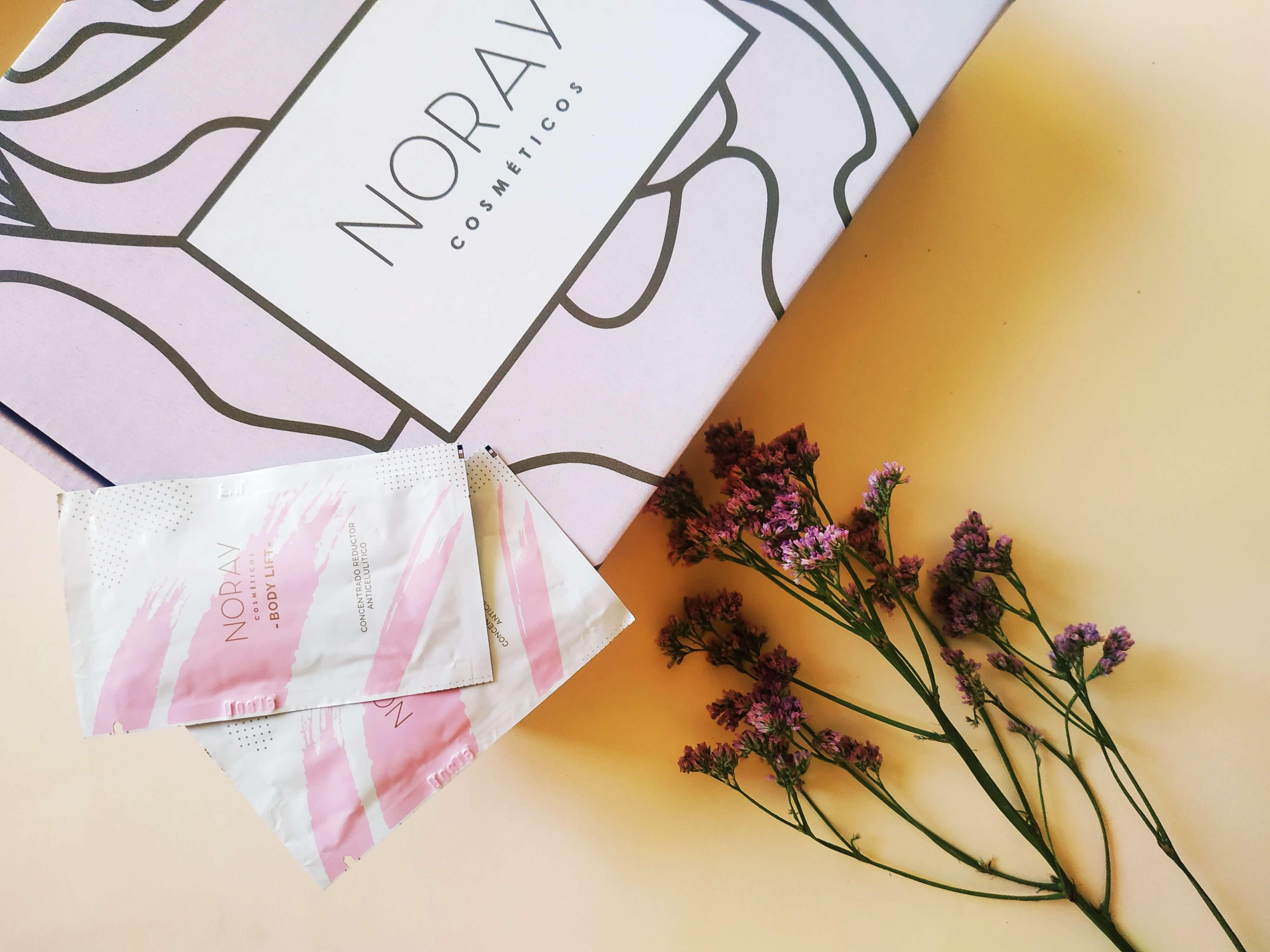 Caja para enviar productos cosméticos