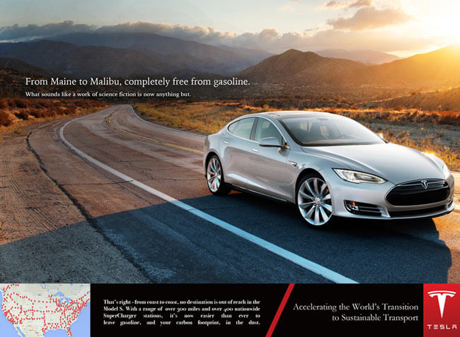 photography branding tesla