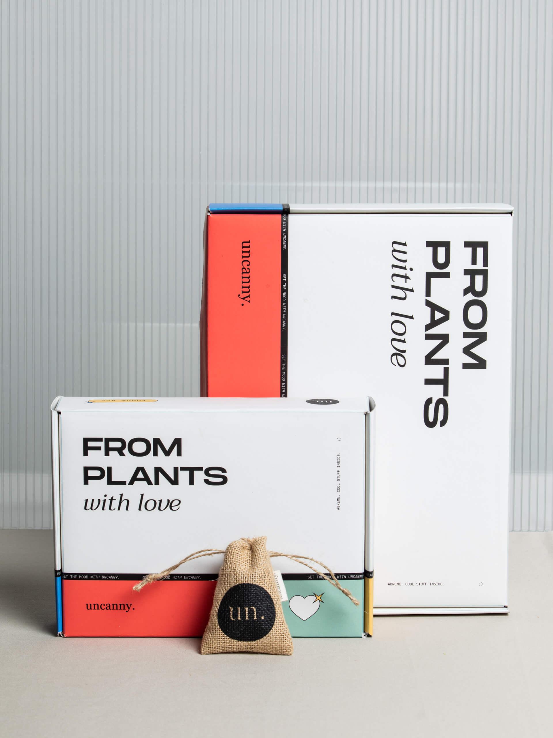Cajas ecológicas de la marca Uncanny