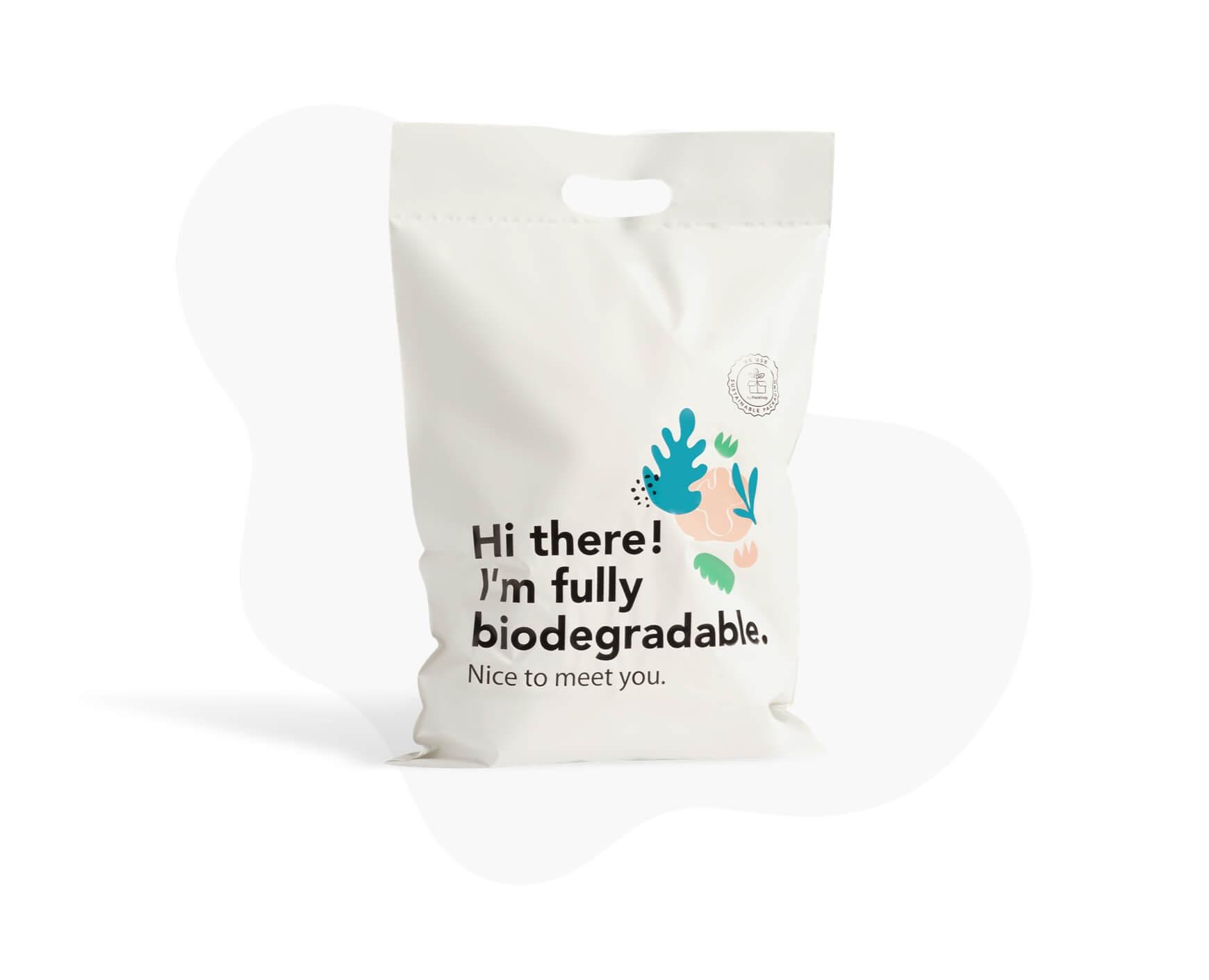 Pack 50 /Öko Organics Versandtaschen kompostierbare Versandtaschen Kleidung Umschlag Kunststoff Selbstverschluss Postkarte Gro/ße selbstklebende Textilien Farben Schwarz Ecofriendly PLA PBAT M