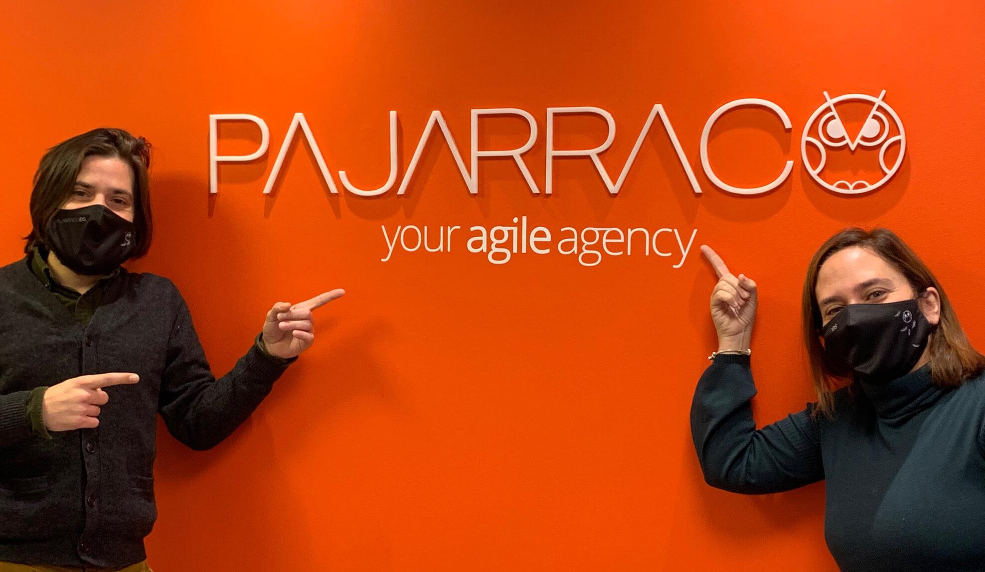 Profesionales de la agencia de marketing PAJARRACO
