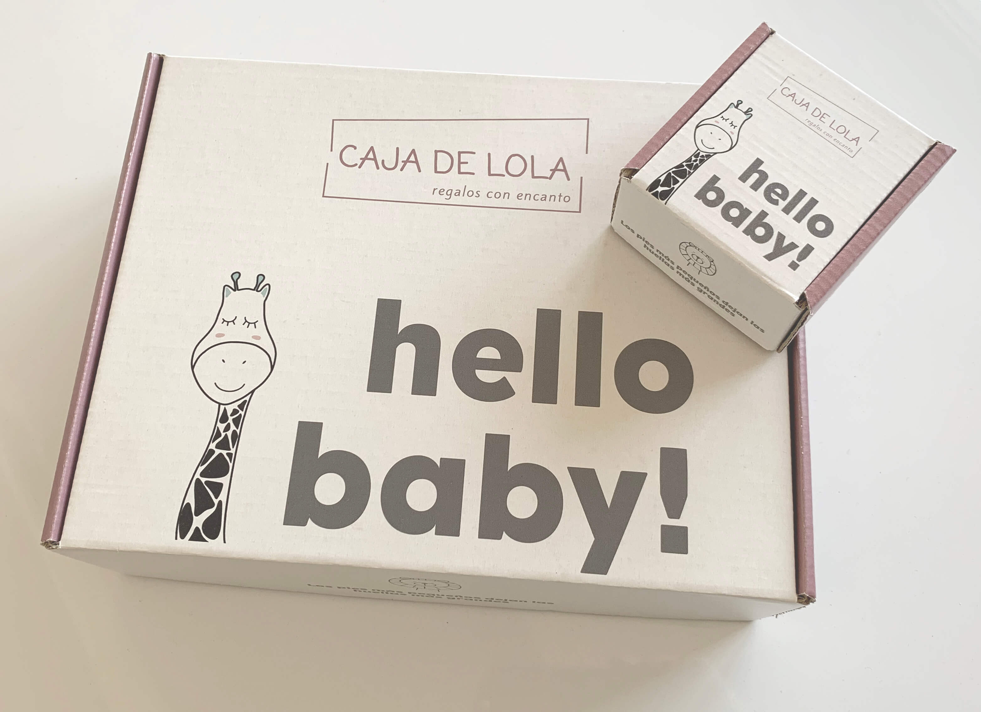 Cajas postales de la empresa Caja de Lola