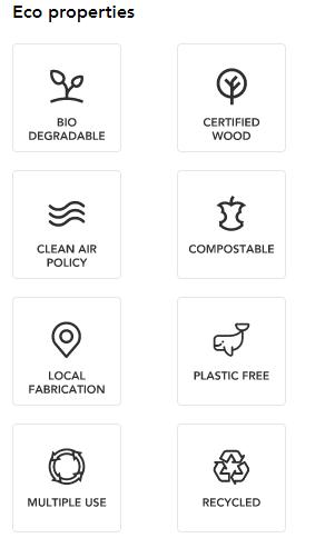 custom packaging eco logos