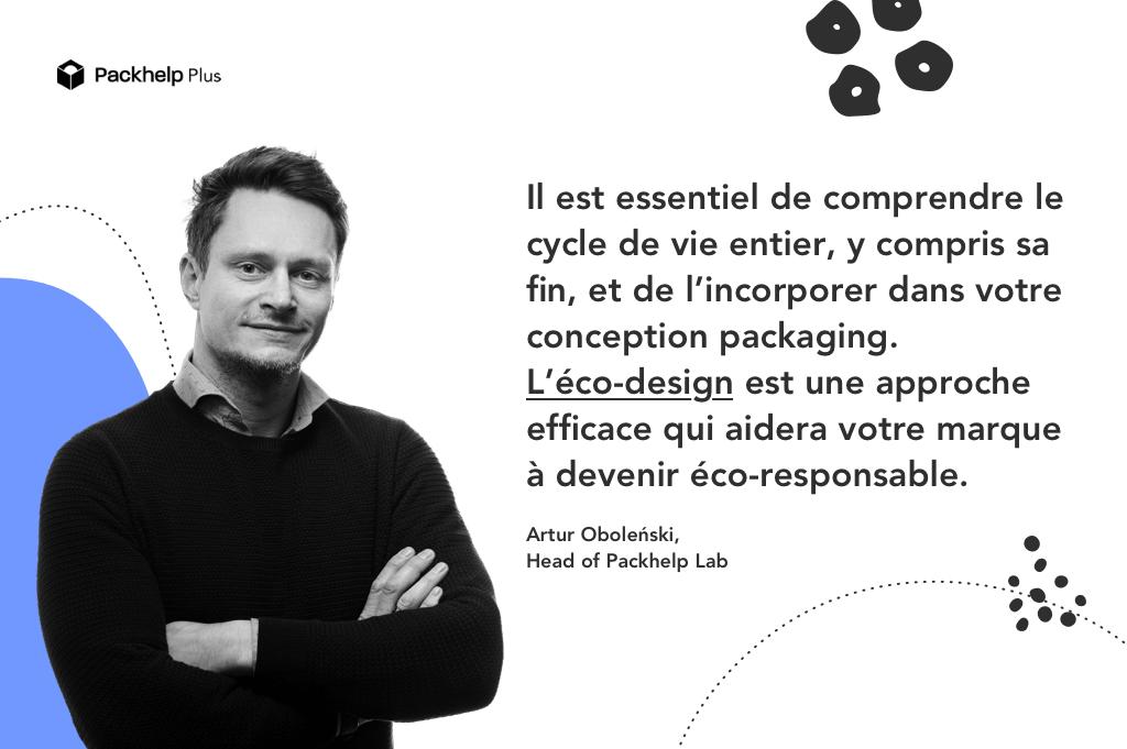 Tendance packaging pour intégrer le cycle de vie de l'emballage dans sa conception