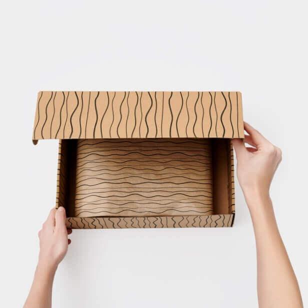 tendencias de packaging en 2021: patrones prediseñados