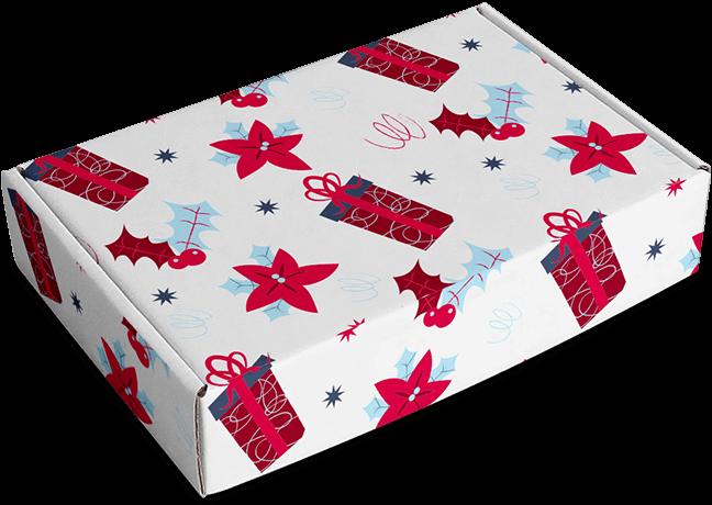 caja motivos Navidad