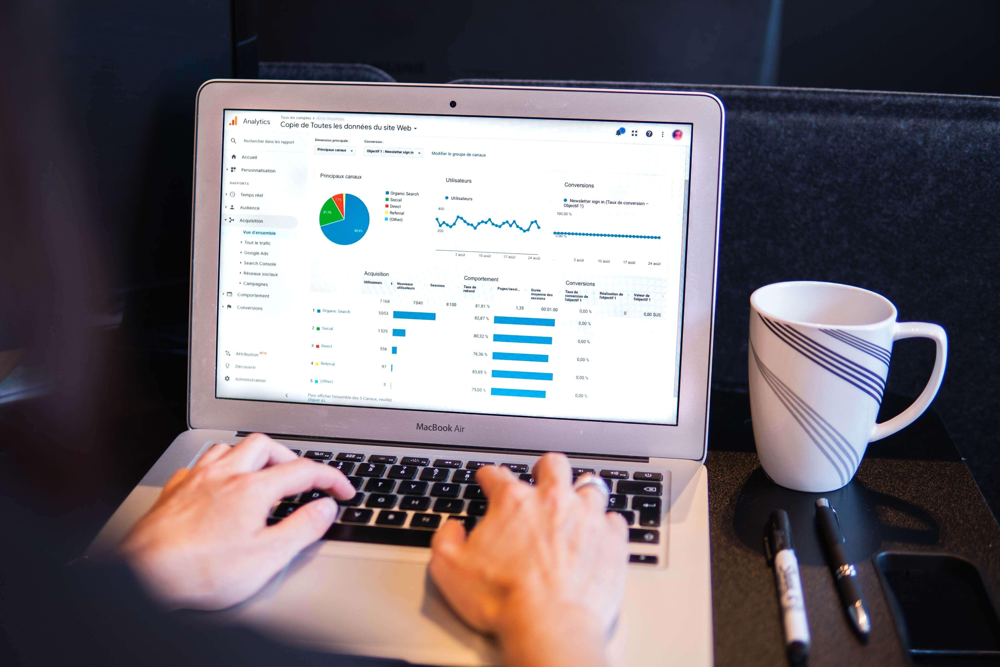 Google Analytics pour analyser les données de son e-commerce