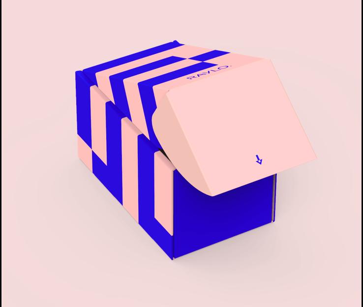 Boîte packaging éco-responsable de Raylo
