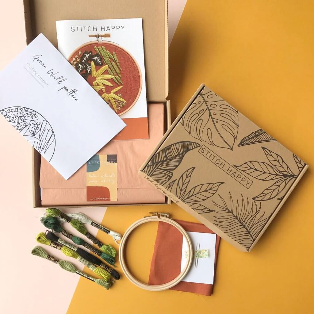 eco mailer box for stitch happy