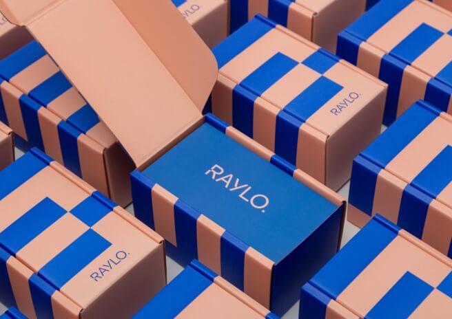 Boîte en carton sur mesure pour mobile Raylo