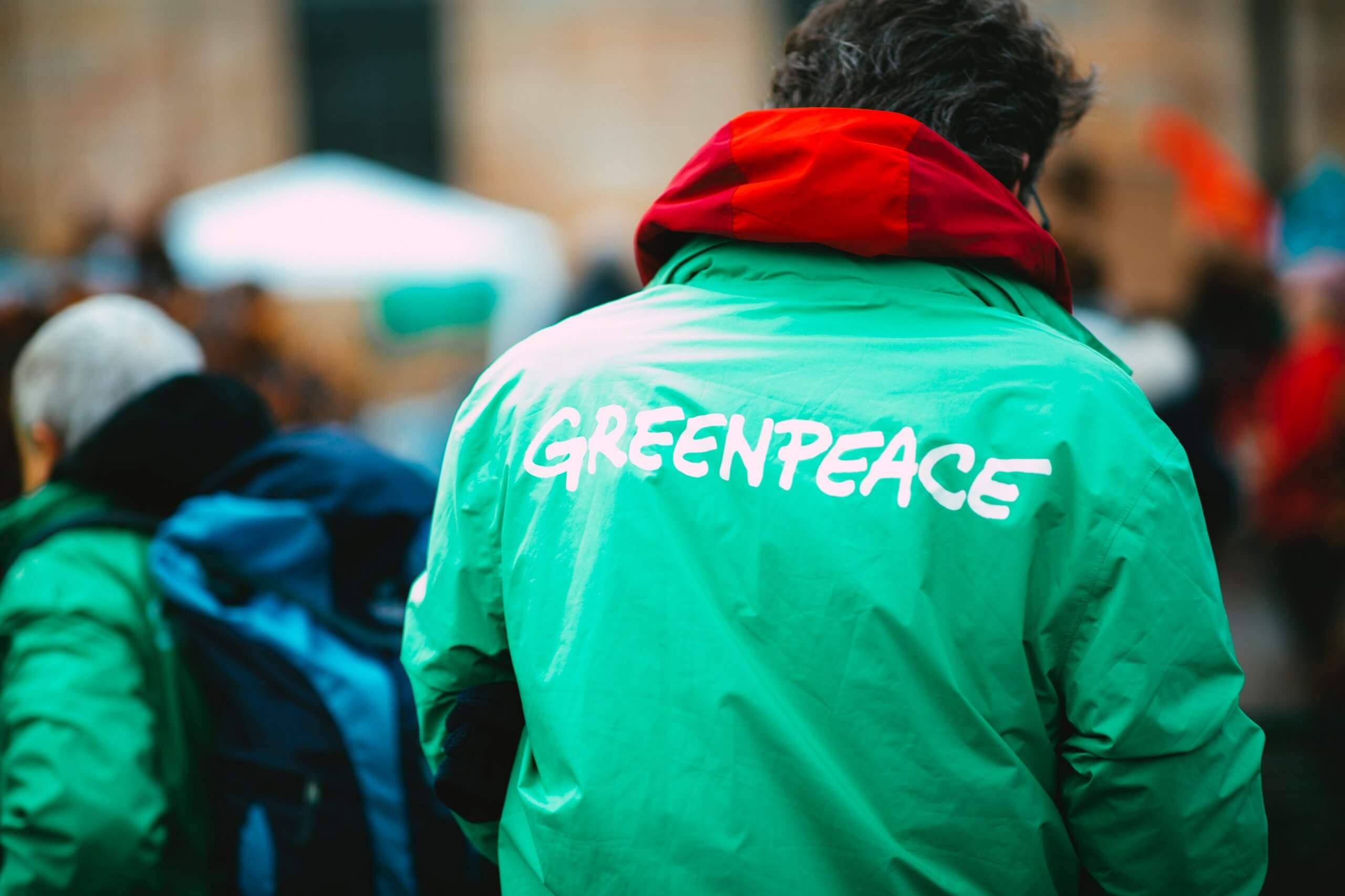Bénévole pour GreenPeace