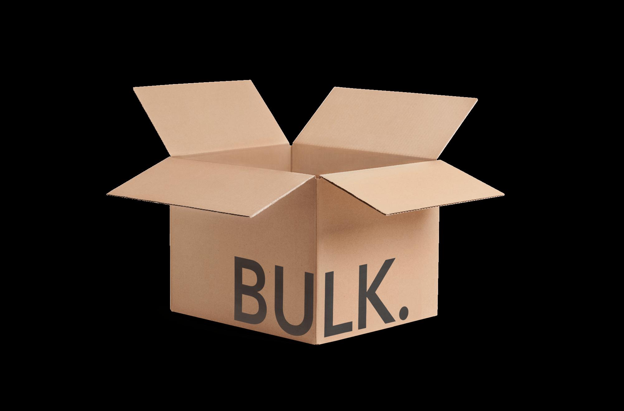 Shipping box with sample logo