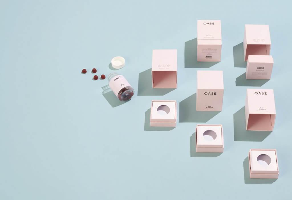 Boîtes et produit de la marque Oase