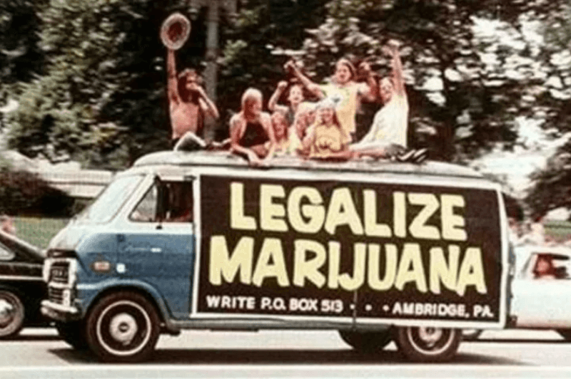 marijuana use in the 60s