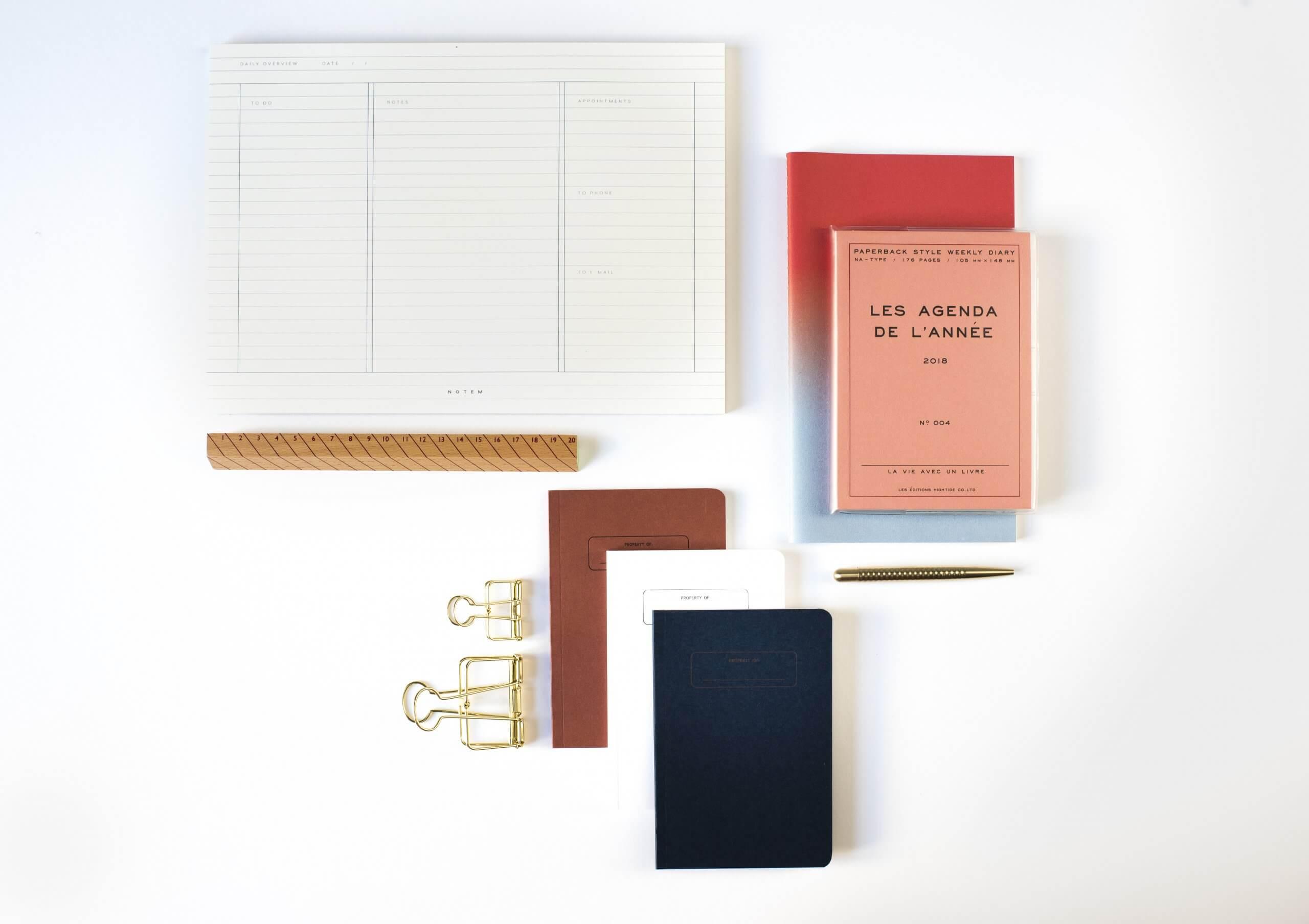 Agendas personalizadas de Notable Notebooks
