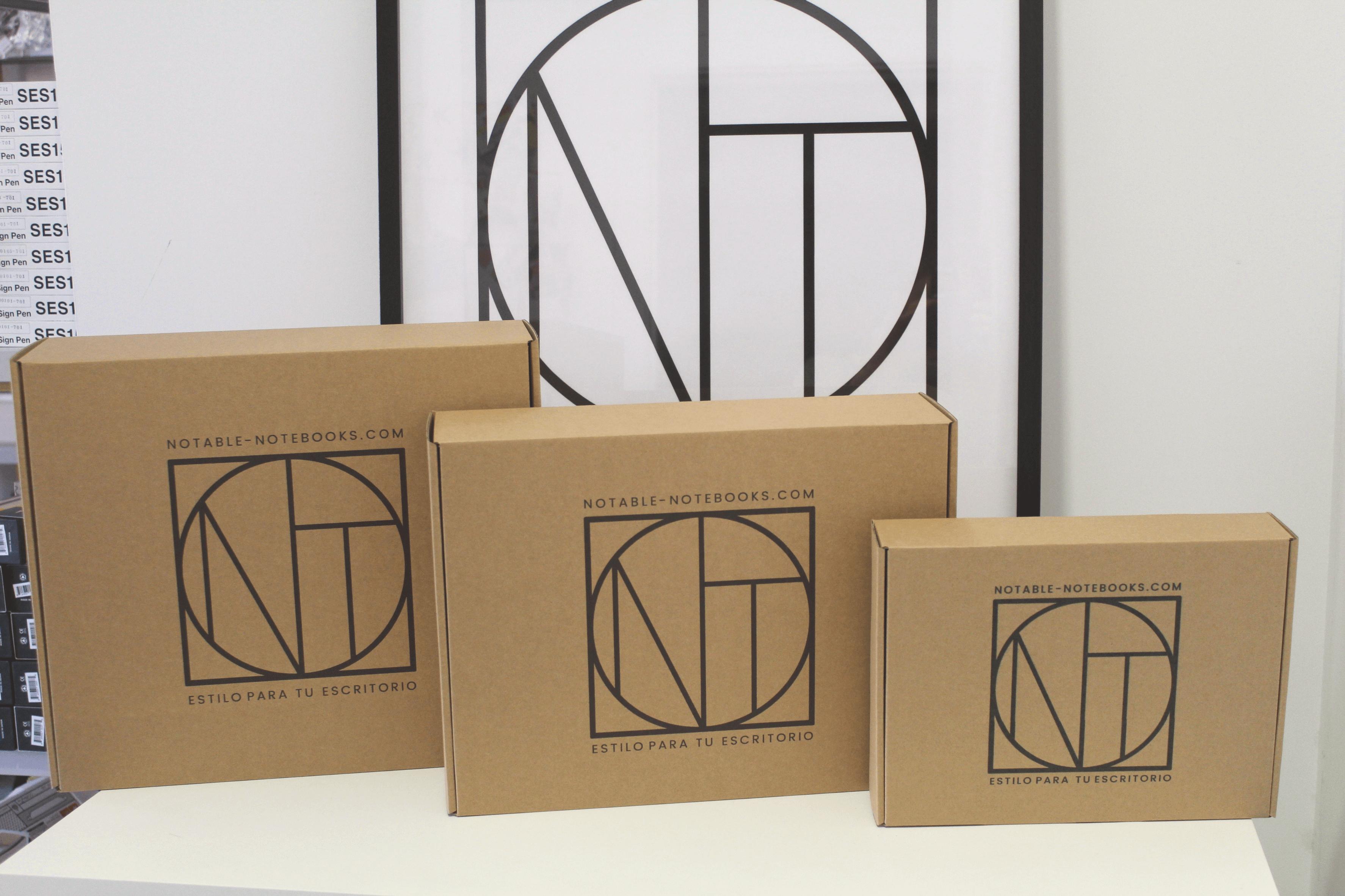 Cajas personalizadas de Notable Notebooks