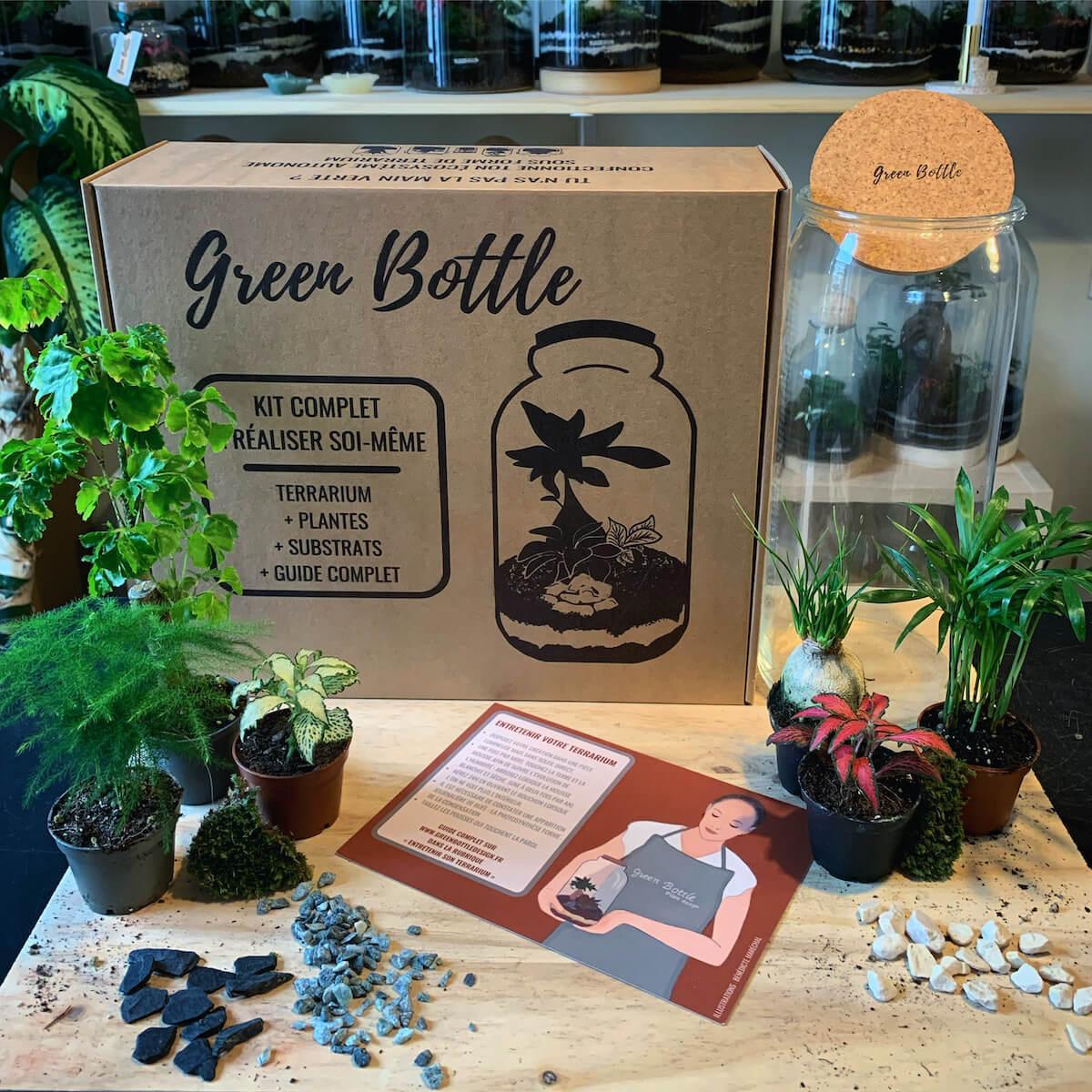 Produits et packaging Green Bottle Design