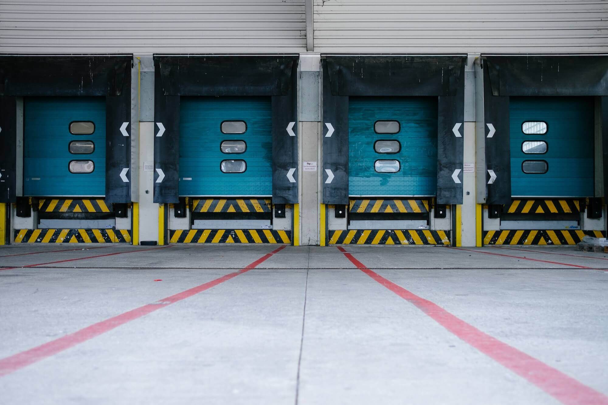 Warehouse loading bays